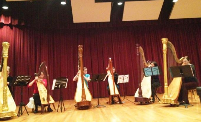 Harp Students Recital